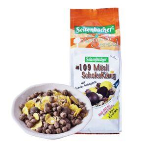 [即期品] [德國Seitenbacher] 巧克力王國穀物麥片 (375g/包) {賞味期限: 2018-09-30}