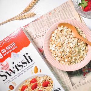 [加拿大Swissli] 輕甜堅果燕麥片 (450g/包)