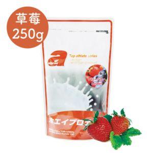 [日本 Alpron] 濃縮乳清蛋白-草莓 (250g/袋)
