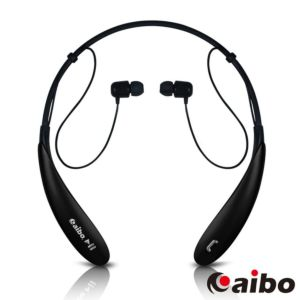 [台灣 Aibo] BT800 運動型頸掛式藍牙耳機麥克風-黑色