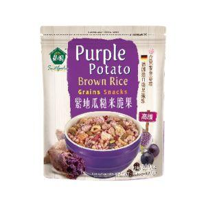 [薌園] 紫地瓜糙米脆果 (200公克 / 袋)