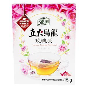 [3點1刻] 直火烏龍玫瑰茶 (18入x2.5g)
