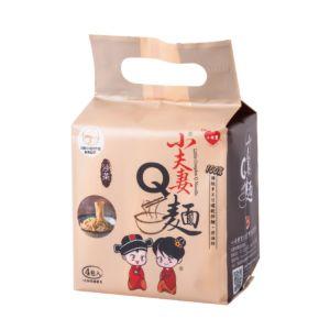 [小夫妻]小夫妻Q麵-沙茶(123g/包、4包/袋) {效期: 2019-04-28}
