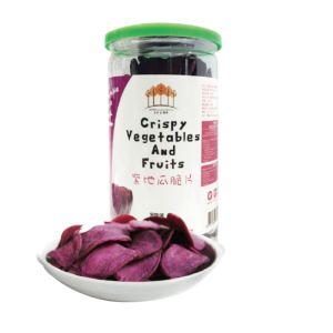 [五桔國際] 完整紫地瓜切片 ~ 幸福紫地瓜片 (190g/罐)