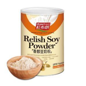 [紅布朗]香醇豆奶粉(可冷沖熱泡) (400g/罐)