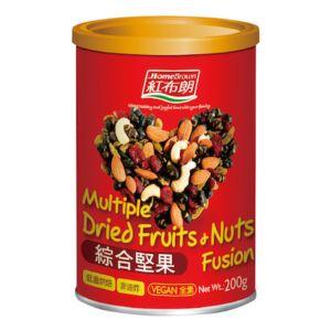 [紅布朗] 綜合堅果 (200g/罐)