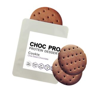 [查克派] 奇亞籽巧克力蛋白質餅乾 (12g/袋)