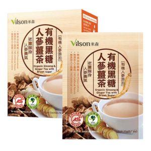 [米森] 有機黑糖人蔘薑茶 (6包/盒)