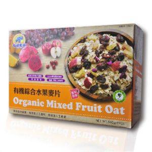 [有機穀典] 有機綜合水果麥片 (500g/2入/盒)