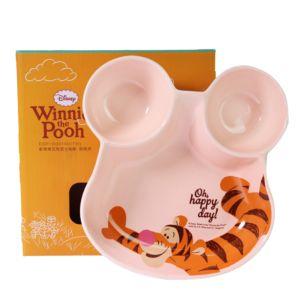 [Disney] 歡樂維尼陶瓷分隔盤-跳跳虎