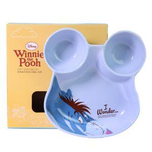 [Disney] 歡樂維尼陶瓷分隔盤-屹耳