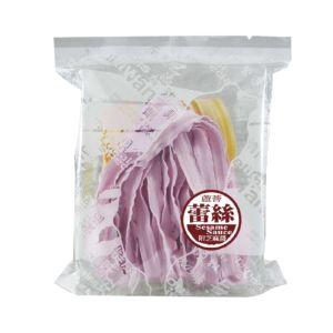 [村家味]蕾絲麵方便包 南瓜&紫地瓜麵片(芝麻醬)(120g/包)