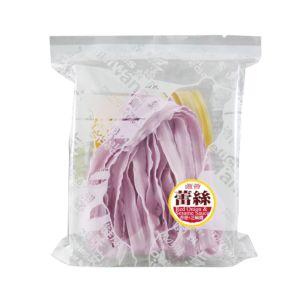 [村家味]蕾絲麵方便包 南瓜&紫地瓜麵片(香蔥芝麻醬)(130g/包)