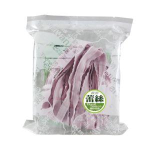 [村家味]蕾絲麵方便包 綠藻&紫地瓜麵片(蘿勒青醬)(120g/包)