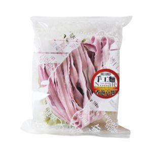 [村家味]蕾絲麵方便包 綠藻&紫地瓜麵片(香蔥京醬)(120g/包)