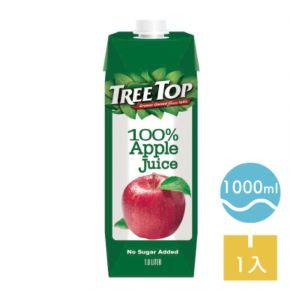 [TreeTop樹頂]  100%純蘋果汁 (1L/罐)