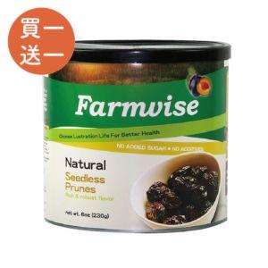 [清淨生活] 好大顆好飽滿~天然去籽蜜棗乾 (230g/罐)