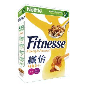 [雀巢] Fitnesse纖怡蜂蜜杏仁穀類早餐(390g/盒)
