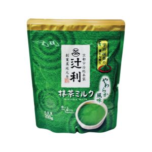 [即期品] [日本 片岡]  辻利抹茶牛奶粉 (200g/袋) {賞味期限: 2018-10-01}