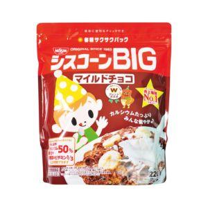 [日清 Nissin] BIG早餐片-巧克力 (220g/袋)