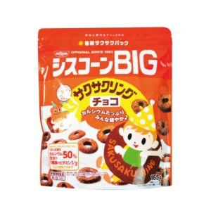 [日清 Nissin] BIG圈圈早餐片-巧克力 (165g/袋)