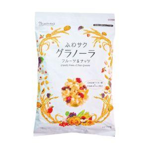 [即期品] [日本 Nisshoku] 奢華水果堅果穀片 (240g/袋) {賞味期限: 2018-12-22}