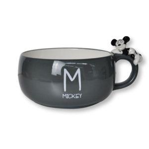 [Disney] 米奇趴睡陶瓷湯杯 (390ml)