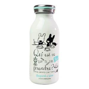 Gaspard et Lisa 麗莎和卡斯柏 牛奶罐造型保溫瓶 (點心時間/350ml)
