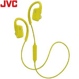 [JVC] HA-EC600BT耳掛藍牙耳機-黃