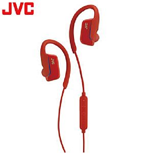 [JVC] HA-EC600BT耳掛藍牙耳機-紅
