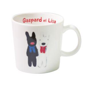 [Gaspard et Lisa 麗莎和卡斯柏] 馬克杯 (排排站/250ml/日本製)