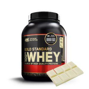 [美國 ON] 黃金比例乳清蛋白粉-白巧克力 (5磅/罐)