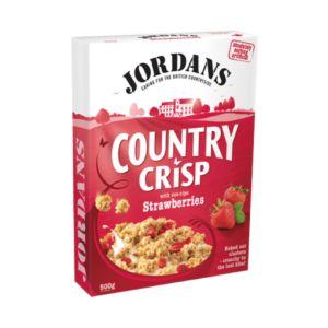 [即期品] [英國Jordan's]草莓燕麥脆片(500g/盒) {效期: 2019-05-09}