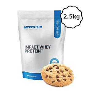 [英國 Myprotein] 濃縮乳清蛋白-餅乾 (2.5kg/袋)
