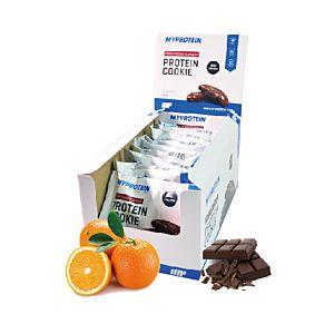[英國 Myprotein] 蛋白餅乾-柑橘巧克力 (12包/盒)