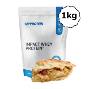 [英國 Myprotein] 濃縮乳清蛋白-蘋果卡士達酥餅(1kg/袋)