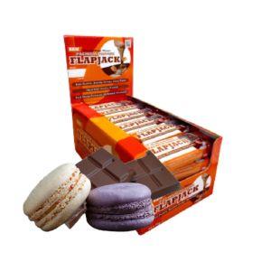 [英國 KBF] Premium燕麥蛋白棒-巧克力馬卡龍(24入/盒)