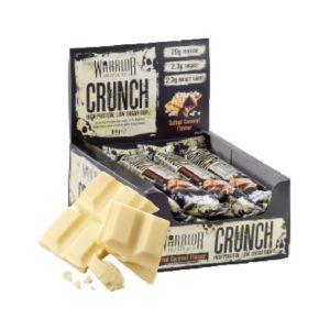 [英國 KBF] Warrior Crunch蛋白棒-白巧克力脆片(12入/盒)