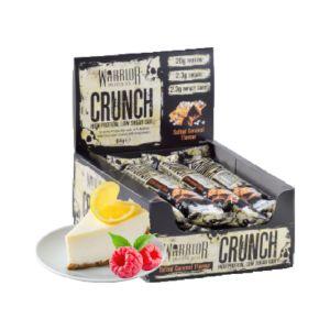 [英國 KBF] Warrior Crunch蛋白棒-覆盆莓檸檬起士蛋糕(12入/盒)
