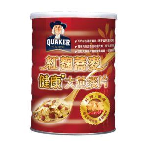 [桂格] 紅麴蕎麥健康大燕麥片(700g/罐)