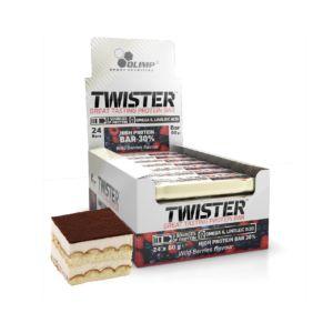 [波蘭 Olimp] Twister 牛奶蛋白棒-提拉米蘇 (24條/盒)