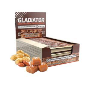 [波蘭 Olimp] Gladiator 牛奶蛋白棒-花生焦糖 (15條/盒)