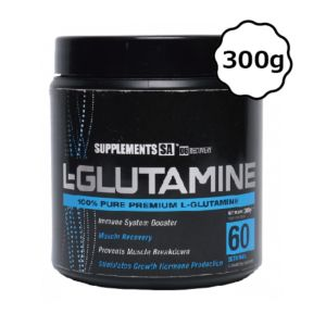 [南非 SUPPLEMENTS SA] 麩醯胺酸-無調味(300g/罐) {效期: 2019-07-01}