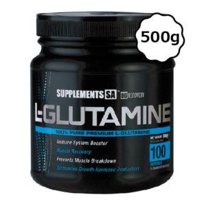[南非 SUPPLEMENTS SA] 麩醯胺酸-無調味(500g/罐)