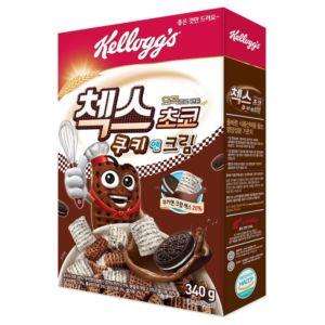 [家樂氏] 奶油巧克力餅乾格格脆 (340g/盒)