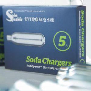[澳洲 SodaSparkle] 國民簡約款專用CO2小鋼瓶-24入