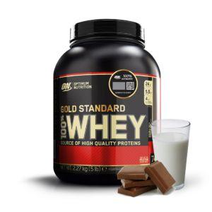[美國 ON] 黃金比例乳清蛋白-牛奶巧克力(5磅/罐)