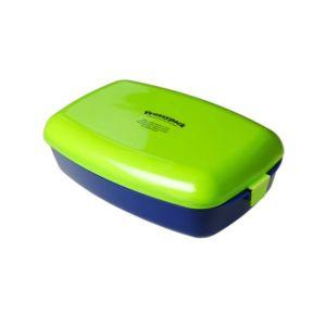 [瑞典 Frozzypack] 隨身保冷餐盒-草綠-藍 (1200ml)