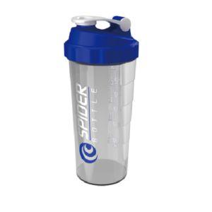 [Spider Bottle]德國專利 單層式螺旋彈簧搖搖杯 (1000ml)-藍色