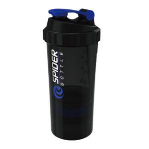 [Spider Bottle]德國專利 三層式螺旋彈簧搖搖杯 (500ml)-藍色